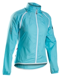 Bontrager Jacke Race Convertible Windshell WM M Maui Blue - Bike Maniac