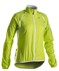 Bontrager Jacke Race Convertible Windshell Womens XS Volt - Bike Maniac