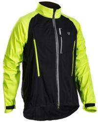 Bontrager Jacke Evoke Stormshell XS Black/Visibility Yellow - Bike Maniac