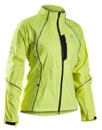 Bontrager Jacke Town Stormshell Womens XS Visibility Yellow - Bike Maniac
