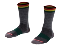 Bontrager Socke Race 13 cm Wool S (36-39) Dark Grey - schneider-sports
