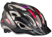 Bontrager Helm Solstice M/L Black/Red/Grape - Bike Maniac