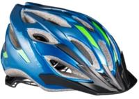 Bontrager Helm Solstice M/L Blue/Green - Bike Maniac