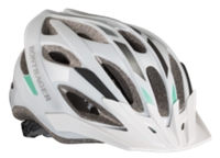 Bontrager Helm Solstice M/L White/Green/Charcoal - Bike Maniac