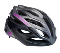 Bontrager Helm Circuit Womens M Charcoal/Black/Hot Grape - Bike Maniac
