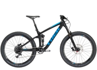 Trek Remedy 7 27.5 15.5 Matte Trek Black - Bike Maniac