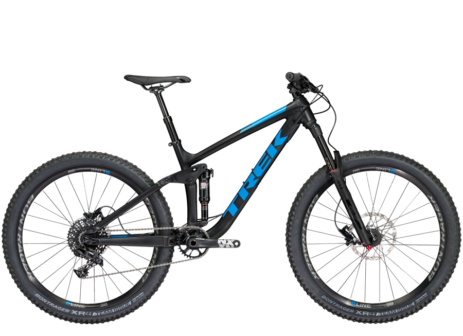 Trek Remedy 7 27.5 17.5 Matte Trek Black - Trek Remedy 7 27.5 17.5 Matte Trek Black