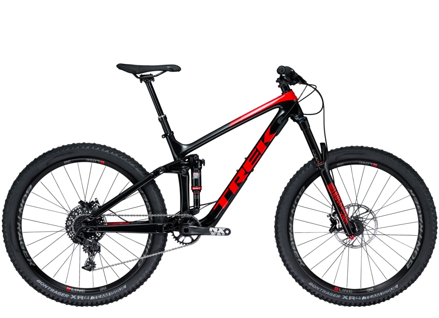 Trek Remedy 9.7 27.5 15.5 Trek Black/Viper Red - Trek Remedy 9.7 27.5 15.5 Trek Black/Viper Red