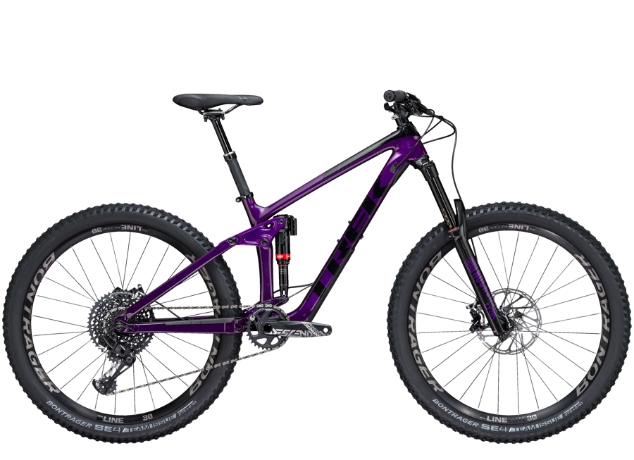 Trek Remedy 9.8 27.5 Womens 17.5 Purple Lotus/Trek Black - Trek Remedy 9.8 27.5 Womens 17.5 Purple Lotus/Trek Black