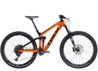 Trek Slash 9.8 15.5 Trek Black/Roarange - Bike Maniac
