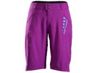 Bontrager Short Rhythm Womens XS Purple Lotus - Bike Maniac