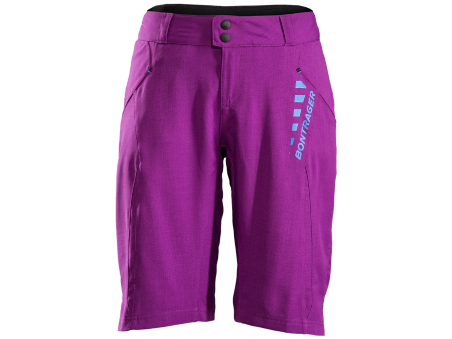 Bontrager Short Rhythm Womens L Purple Lotus - Bontrager Short Rhythm Womens L Purple Lotus