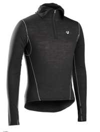 Bontrager Funktionswäsche B2 Hooded Long Sleeve M Black - Bike Maniac
