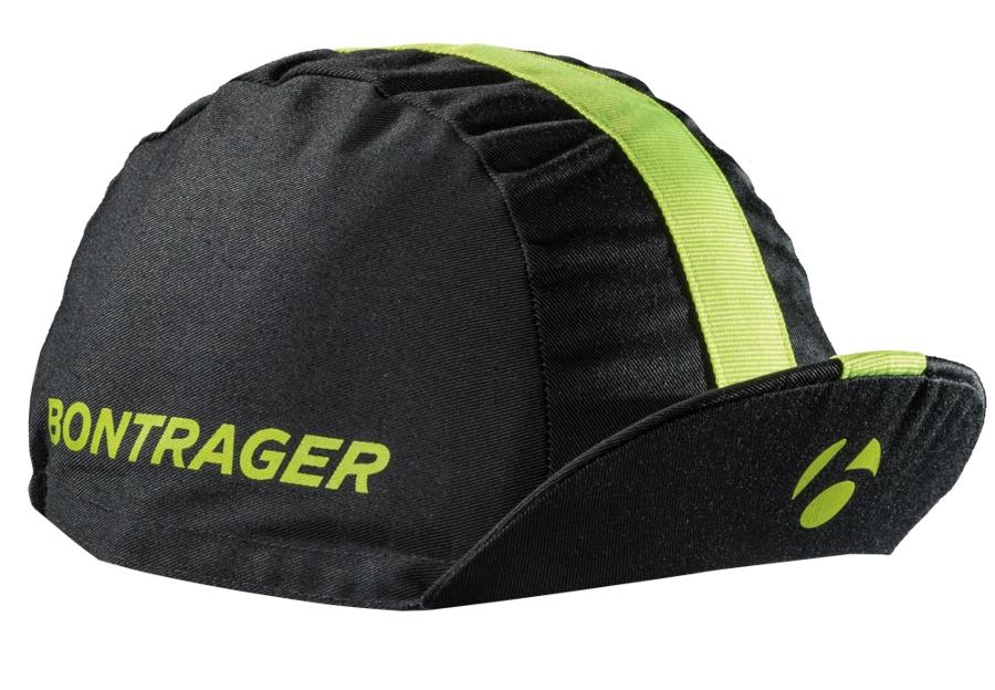 Bontrager Kopfbedeckung Cotton Cycling Cap EG Black/Hi Vis - Bontrager Kopfbedeckung Cotton Cycling Cap EG Black/Hi Vis