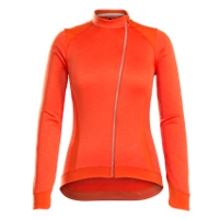 Bontrager Jersey Vella Thermal Long Sleeve Large Orange - RADI-SPORT alles Rund ums Fahrrad