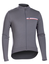 Bontrager Trikot Classique Thermal Long Sleeve XXL Smoke - Bike Maniac