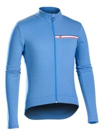 Bontrager Trikot Classique Thermal Long Sleeve XL Blue - Bike Maniac