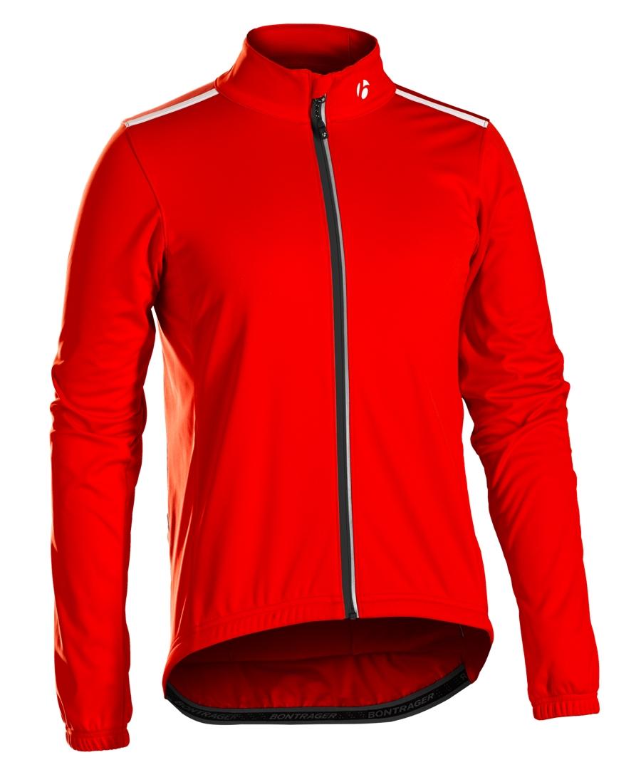 Bontrager Jacke Starvos S1 Softshell XL Bonty Red - Bontrager Jacke Starvos S1 Softshell XL Bonty Red