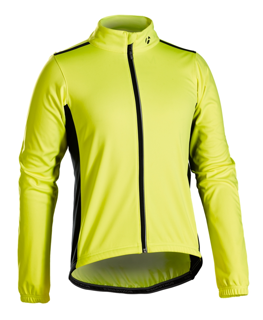 Bontrager Jacke Starvos S1 Softshell XL Vis Yellow - Bontrager Jacke Starvos S1 Softshell XL Vis Yellow