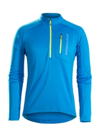Bontrager Trikot Evoke Thermal Long Sleeve XS Blue - Bike Maniac