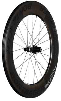 Bontrager Hinterrad Aeolus 9 TLR Clincher Shim11 Black - Bike Zone