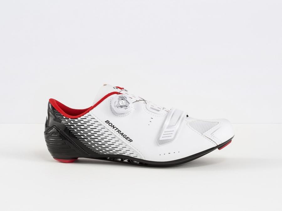 Bontrager Schuh Specter 44 White/Black - Bontrager Schuh Specter 44 White/Black
