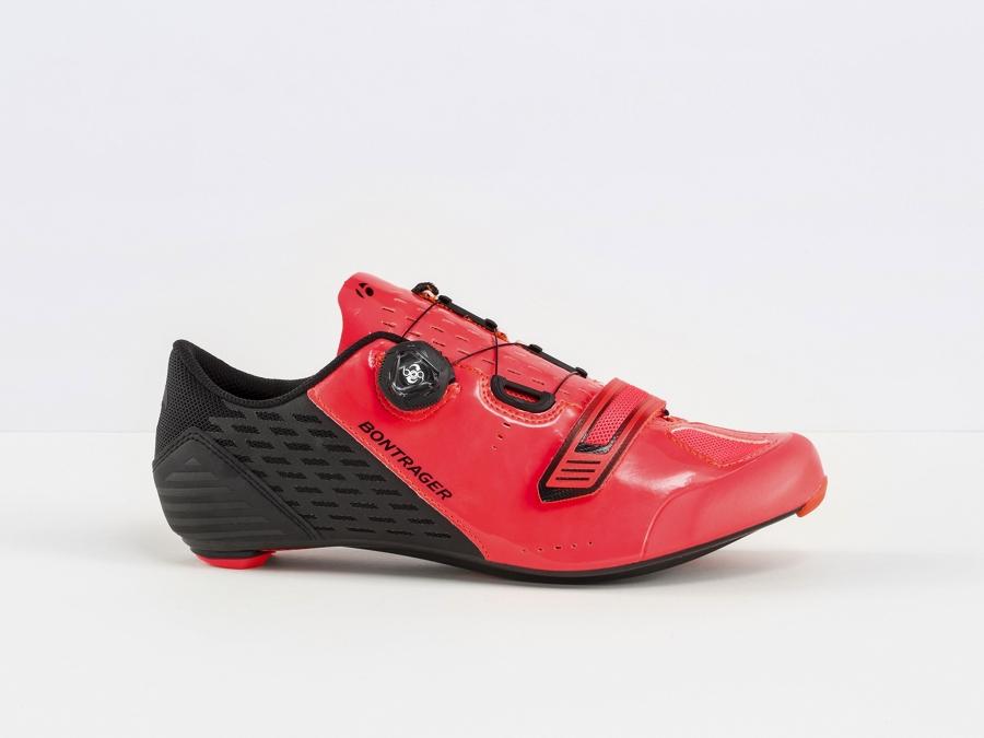 Bontrager Schuh Velocis 38 Radioactive Pink/Black - Bontrager Schuh Velocis 38 Radioactive Pink/Black