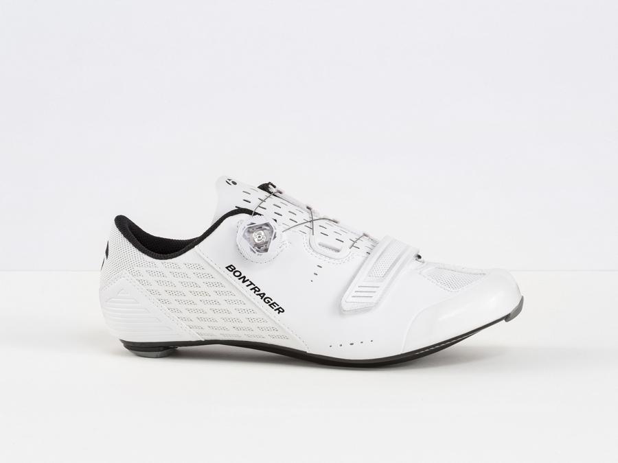 Bontrager Schuh Velocis 48 White - Bontrager Schuh Velocis 48 White