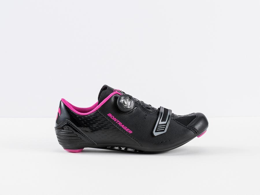 Bontrager Schuh Anara Womens 39 Black/Pink - Bontrager Schuh Anara Womens 39 Black/Pink