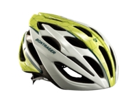 Bontrager Helm Starvos S White/Green/Blue - Bike Maniac