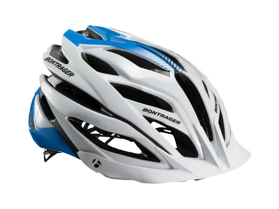 Bontrager Helm Specter XR L White/Blue - Bontrager Helm Specter XR L White/Blue