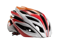 Bontrager Helm Specter L White/Red/Orange - schneider-sports
