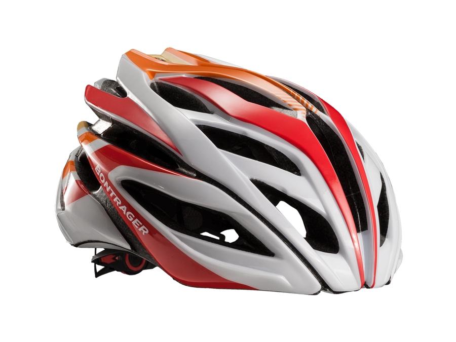 Bontrager Helm Specter L White/Red/Orange - Bontrager Helm Specter L White/Red/Orange