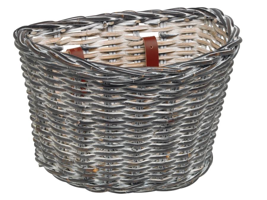 Electra Basket Wicker Black - Electra Basket Wicker Black