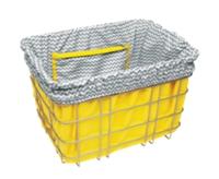 Electra Basket Part Liner Yellow/Grey Zig Zag - Bike Maniac