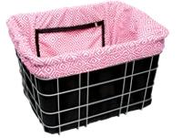 Electra Basket Part Liner Black/Pink Mosaic - Bike Maniac