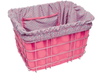 Electra Basket Part Liner Pink/Triangles - Bike Maniac