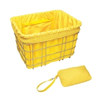 Electra Basket Part Liner Yellow/Tiles - Bike Maniac