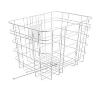 Electra Basket Cruiser Steel White Front - schneider-sports