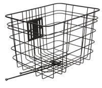 Electra Basket Cruiser Steel Black Front - schneider-sports