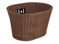 Electra Basket Plastic Wicker Brown - Bike Maniac