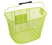 Electra Basket QR Steel Mesh Green - Bike Maniac
