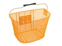 Electra Basket QR Steel Mesh Orange - Bike Maniac