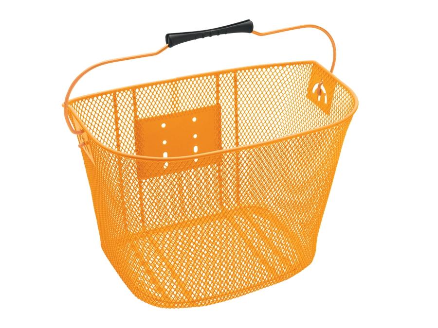 Electra Basket QR Steel Mesh Orange - Electra Basket QR Steel Mesh Orange