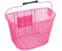 Electra Basket QR Steel Mesh Pink - Bike Maniac