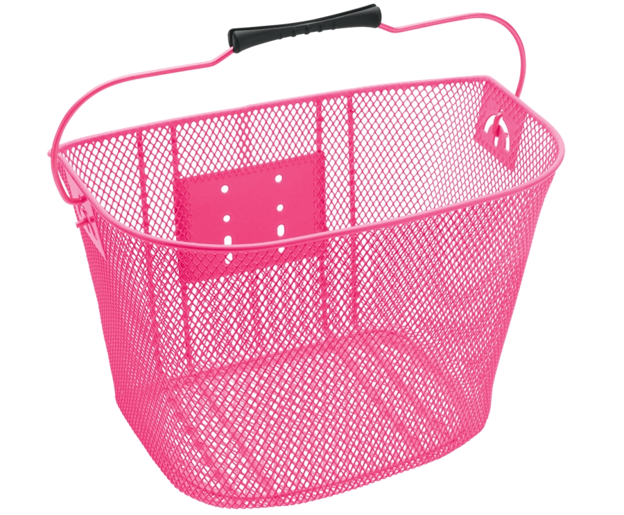 Electra Basket QR Steel Mesh Pink - Electra Basket QR Steel Mesh Pink