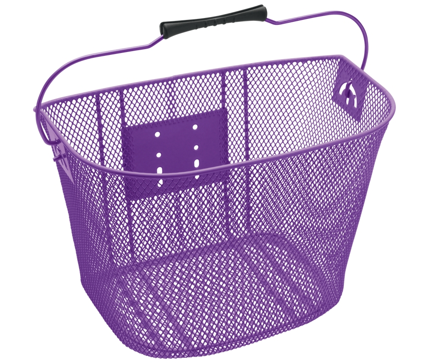 Electra Basket QR Steel Mesh Purple - Electra Basket QR Steel Mesh Purple