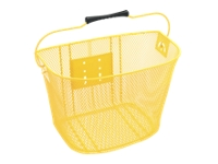 Electra Basket QR Steel Mesh Yellow - Bike Maniac