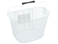 Electra Basket QR Steel Mesh White - Bike Maniac