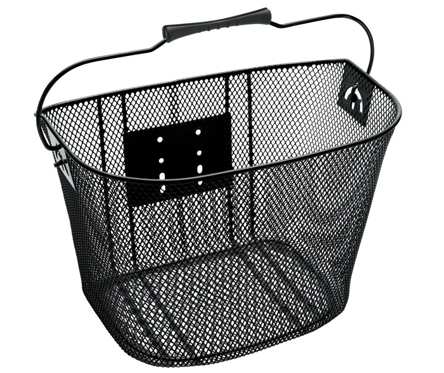 Electra Basket QR Steel Mesh Black - Electra Basket QR Steel Mesh Black